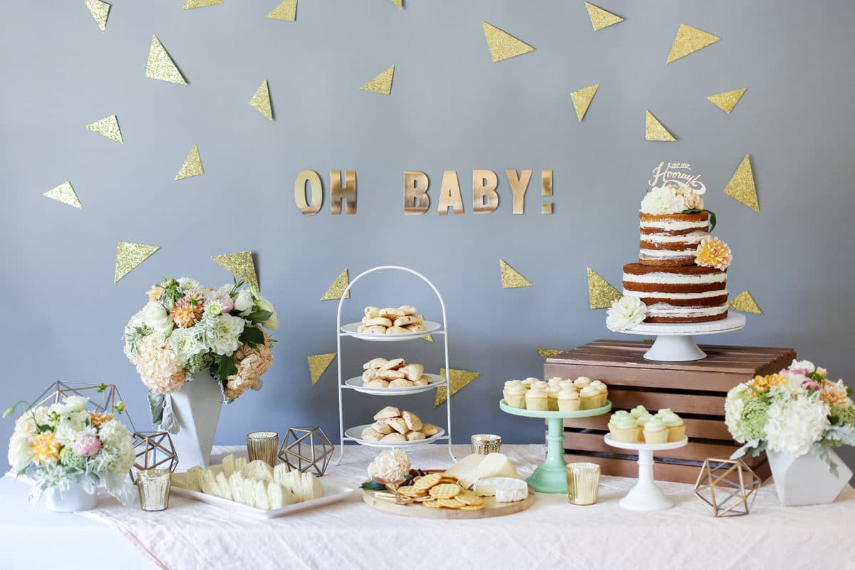 baby shower chausson